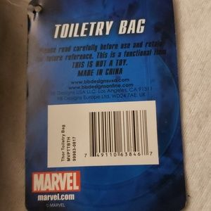Marvel Bags - Marvel Avengers Toiletry Cosmetic Bag NWT